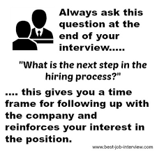 Following Up On Job Interview Follow Up Letter After Interview
