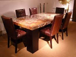 table : Granite Dining Table Set Tjihome Elegant Granite Dining ...
