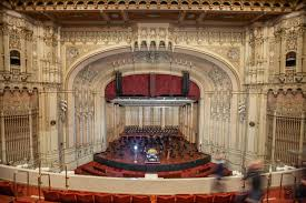 Copley Symphony Hall San Diego Historic Theatre Photography