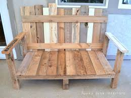 pallet wood sofa for an outdoor porch or patio | funkyjunkinteriors.net. How  to make ...