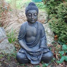 garden buddha statues. Image Of Large Detailed Stone Look Resin Buddha Garden Ornament Statues
