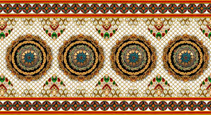 Textile Designs Pictures Textile Jwellery Border Design Png Transparent Digital Designs