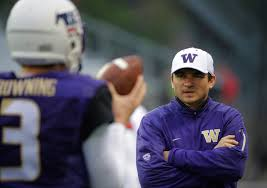 UW offensive coordinator Jonathan Smith, once scapegoat, now deserves  praise | The Seattle Times