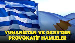 Başkan Erdoğan'ın KKTC ziyareti öncesi Yunanistan ve GKRY'den provokatif  hamleler