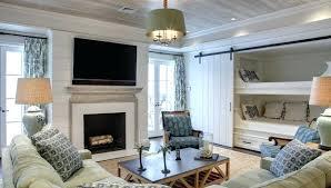 sliding fireplace doors room featuring bunk beds behind the barn door sliding door fireplace screen