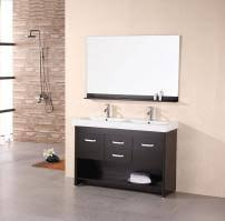 bathroom vanity double sink 48 inches. 48 inch modern double sink bathroom vanity in espresso inches y