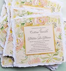 a peek into the studio watercolor floral wedding invitations Handmade Wedding Invitations With Flowers pin it floral frame wedding invitation Unique Butterfly Wedding Invitations