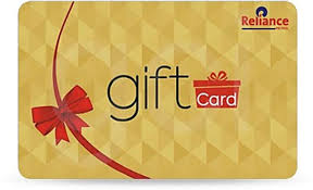 gift card formats reliance gift card redeemable at all reliance formats worth rs 2000