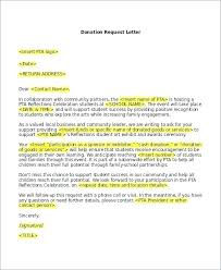 Solicitation Latter Solicitation Letter Template Donations Sample Asking For To