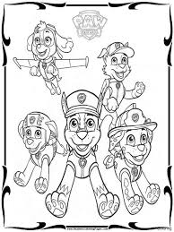 Lofty Design Ideas Printable Paw Patrol Coloring Pages Free Download