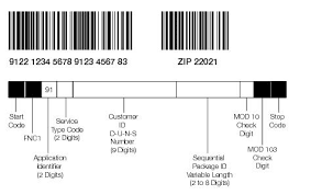 usps barcode format 708 technical specifications