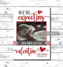 valentines day pregnancy announcement cards valentines day pregnancy announcement expecting february pregnancy