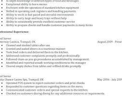 Bartender Resume Examples Sample Bartender Resume Sample Luxury