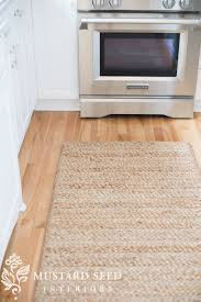 i was milling i found a new braided jute runner that was perfect for my kitchen so i picked it up it s the natural chunky braided jute flynn rug