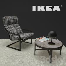 3d models other ikea poang chair