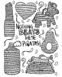 Printable Coloring Pages spanish christmas coloring pages : Pinata Coloring Page Spanish Christmas Color Number Spanish ...