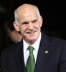 A George Papandreou was in charge in the 1960s at a time of constitutional upheaval. - George-Papandreou
