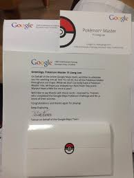 cool] singapore now has google certified pokémon masters! Google Maps Pokemon Master Google Maps Pokemon Master #45 google maps pokemon master app