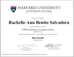 Harvard Extension School's CS50