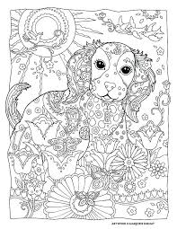 Cute Dogs Coloring Book Coloring Pages Dogs M Free Coloring Pages