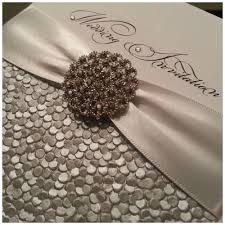 Glamorous Wedding Invitations Copy Glamour Crystal  Couture Luxury Stationery