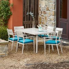 7 piece patio dining set in outdoor corvus parma 7 piece patio dining set with