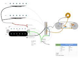 strat wiring diagram master tone Strat Wiring Diagram Bridge Tone Wiring-Diagram Fender Strat MIM