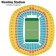 Wembley Stadium Nfl Seating Chart Related Keywords Suggestions Wembley Stadium Seating
