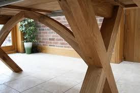 cross leg dining tables extending x