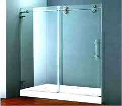 how to clean shower door tracks track awesome sliding doors wheels