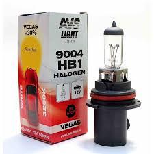 <b>Лампа</b> галогенная <b>AVS Vegas</b> HB1/9004.12V.65/45W (1 шт ...