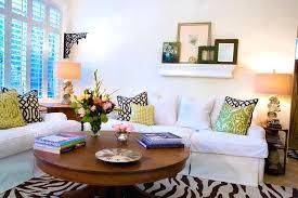 36 round coffee table impressive modern best inside living room designs 15