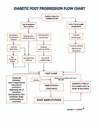 Diabetic Foot Progression Flow Chart Mediasia