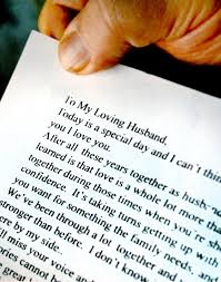 His Wifes Words In A Love Letter Were With Him Until The