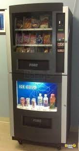 Used Ice Vending Machines For Sale Cool Used Genesis Combo Vending Machines With Entree For Sale Snack And