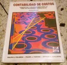 Libro De Costos Polimeni - Bs. 40.000,00 en Mercado Libre