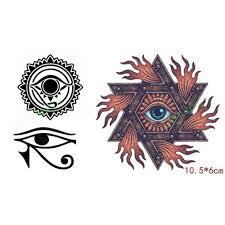 водостойкая временная татуировка наклейка аполлон герб с солнцем бог