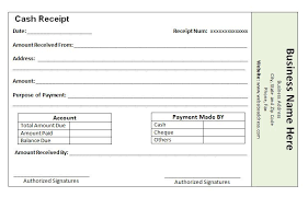 Paid Receipt Form Cash Payment Receipt Template The Proper Receipt Format