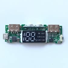 Box sạc dự phòng 8 cell hiển thị LED 5V2A vỏ nhôm - không pin