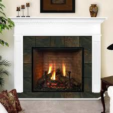 image of electric fireplace mantel shelf