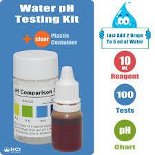 Water Ph Wide Range 4 0 10 0 Testing Kit Reagent Drops