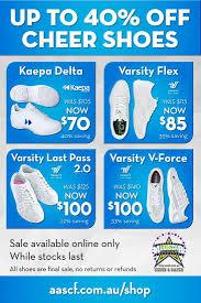 Kaepa Cheer Shoes Size Chart Australian All Star Cheerleading Federation P L Cheerleading