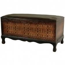 Oriental Furniture 32-Inch Olde-Worlde Euro Baroque Design Decorative Window  Seat Bench