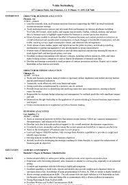 Business Analytics Resume Samples Velvet Jobs