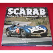 race log scarab race log of the all american specials 1957 1965