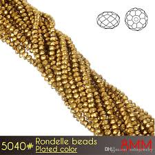 promotional diy making crystal glass chandelier high reflective brilliant rondelle beads 8mm plated colors a5040 brilliant beads chandelier beads crystal