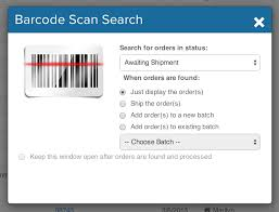 Scan – To Shipstation Search
