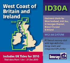 Electronic Charts Uk Imray Id Chart Digital West Coast Of Britain With Uk Tide Information Id30a