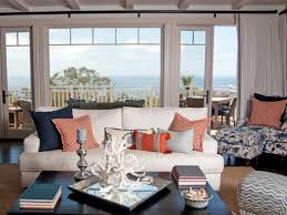 Living Room:Stylish Cute Colorful Beach House Design Living Room Ideas  Coastal Living Room Decor