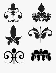 Design Black And White Art Victorian Art Deco Frame Free Picture Border Design Black
